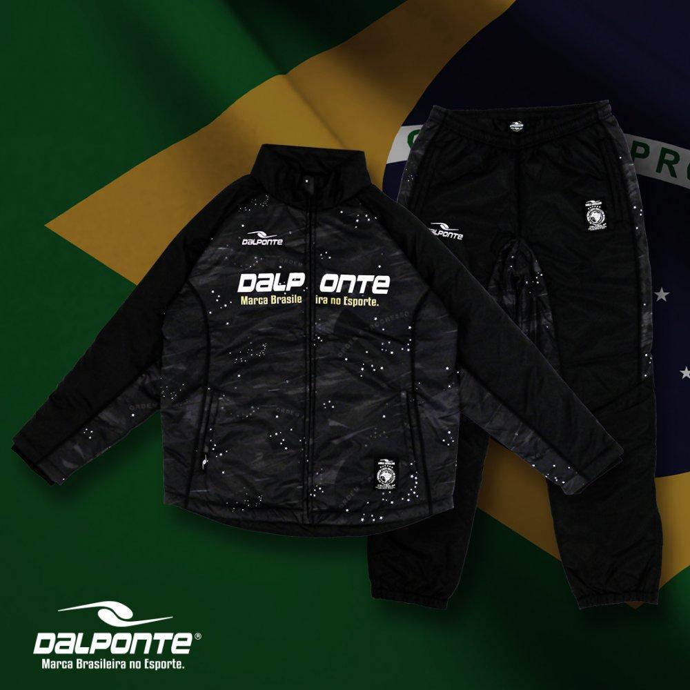 ブラジルスター中綿ウォーマースーツ